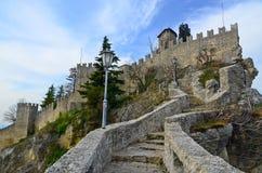 Castle of San Marino Stock Image