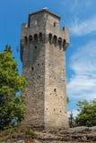 Castle of San Marino Royalty Free Stock Photography
