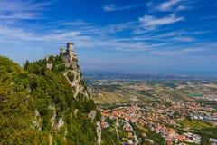 Castle of San Marino - Italy Stock Image