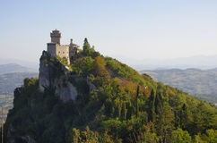 Castle of San Marino Stock Images
