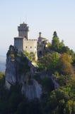 Castle of San Marino Royalty Free Stock Photo