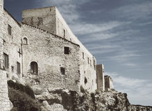 Castle in San Nicola island, Italy Royalty Free Stock Image
