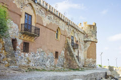 Castle of San Nicola l'Arena. Palermo, Sicily Royalty Free Stock Images