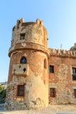 Castle San Nicola l'Arena. Shot of a medieval castle at San Nicola l'Arena Stock Images