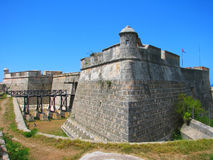 Castle San Pedro de la Roca del Morro Royalty Free Stock Photos