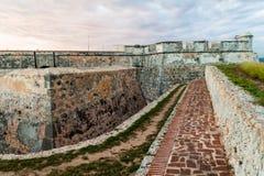 Castle San Pedro de la Roca del Morro, Santiago de Cuba, Cu. Ba royalty free stock image