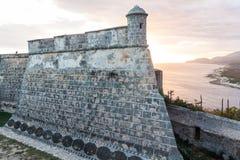 Castle San Pedro de la Roca del Morro, Santiago de Cuba, Cu. Ba stock photography