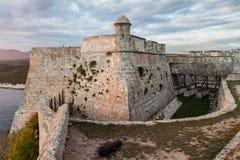 Castle San Pedro de la Roca del Morro, Santiago de Cuba, Cu. Ba royalty free stock images