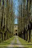 Castle of San Pietro Cerro Italy Stock Image