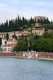 Castle San pietro, Verona, Italy Royalty Free Stock Images