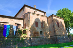 Castle of San Secondo Parmense. Emilia-Romagna. Italy. Stock Images