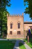 Castle of San Secondo Parmense. Emilia-Romagna. Italy. Stock Photo