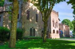 Castle of San Secondo Parmense. Emilia-Romagna. Italy. Royalty Free Stock Photography