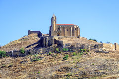 Castle of san vicente de la sonsierra in la rioja Royalty Free Stock Photo