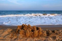 Castle of Sand Stock Photo