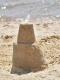 castle sand Royaltyfri Bild