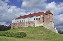 The castle of Sandomierz Stock Photography