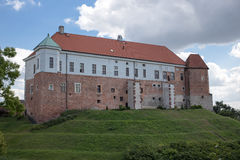 Castle in Sandomierz. Royalty Free Stock Images