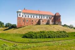 Castle in Sandomierz, Poland Royalty Free Stock Photo