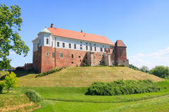 Castle in Sandomierz, Poland Stock Photo