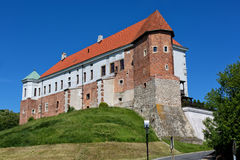 Castle in Sandomierz in Poland Royalty Free Stock Photography
