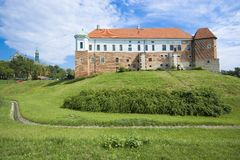 Castle in Sandomierz Stock Photo