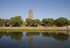 The Castle Sandy discourage water. The Castle Sandy discourage water in ayutthaya Stock Photos