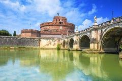 Castle Sant «Angelo. Ρώμη. Ιταλία. Στοκ φωτογραφία με δικαίωμα ελεύθερης χρήσης