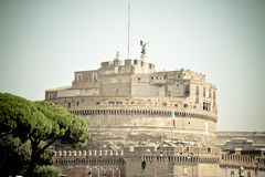 Castle Sant Angelo στη Ρώμη Ιταλία Στοκ φωτογραφία με δικαίωμα ελεύθερης χρήσης