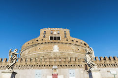 Castle Sant Angelo στη Ρώμη, Ιταλία Στοκ φωτογραφία με δικαίωμα ελεύθερης χρήσης
