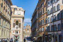 Castle Sant Angelo στη Ρώμη, Ιταλία Στοκ Φωτογραφίες