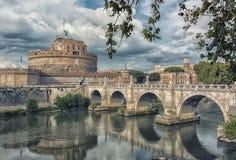 Castle Sant ` Angelo στη Ρώμη Στοκ εικόνες με δικαίωμα ελεύθερης χρήσης