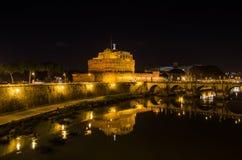 Castle sant Angelo στη Ρώμη Στοκ εικόνα με δικαίωμα ελεύθερης χρήσης