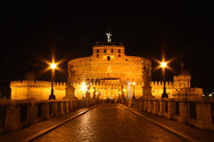 Castle Sant'Angelo Stock Image