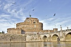 Castle Sant Angelo Στοκ φωτογραφία με δικαίωμα ελεύθερης χρήσης
