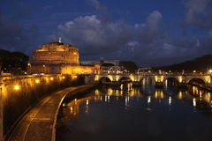 Castle Sant Angelo Royalty Free Stock Photo