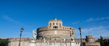 Castle Sant Angelo in Rom Royalty Free Stock Photography
