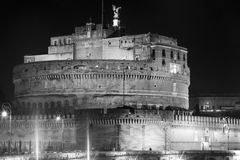 Castle Sant Angelo in Rome, Italy Royalty Free Stock Image