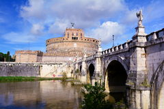 Castle Sant'Angelo,Rome,Italy Stock Image
