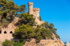 Castle Sant Joan Royalty Free Stock Images