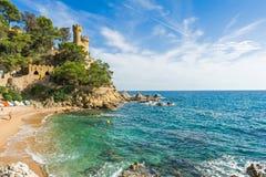 Castle Sant Joan Στοκ εικόνα με δικαίωμα ελεύθερης χρήσης