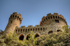 Castle Sant Joan in Lloret De Mar, Costa Brava Stock Photos