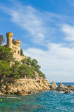 Castle Sant Joan Royalty Free Stock Photos