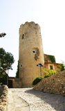 Castle in in Sant Pere de Ribes Royalty Free Stock Images
