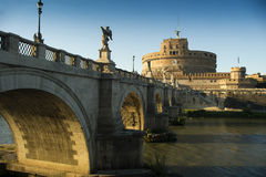 Castle Sant& x27;Angelo Rome Royalty Free Stock Images