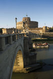 Castle Sant& x27;Angelo Rome Royalty Free Stock Photography
