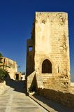 Castle Santa Barbara. In Alicante Royalty Free Stock Photography