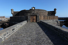 Castle in Santa Cruz de Tenerife Stock Photography