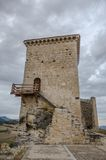 Castle of Santa Gadea del Cid Stock Photography