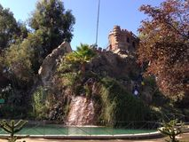 Castle At The Santa Lucia Hill Royalty Free Stock Photography
